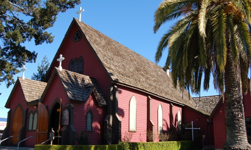 Calvary Episcopal Church, Santa Cruz